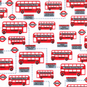 London bus polycotton