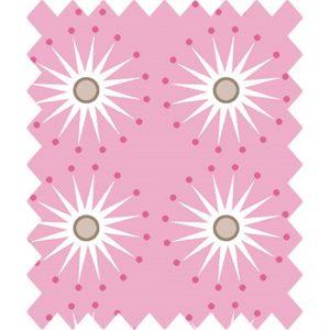 Gutermann portofino pink star burst