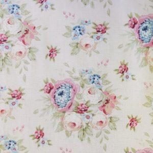 Tilda Garden Flowers Dove White