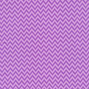 Fabri-Quilt Truck Stop purple zig zag