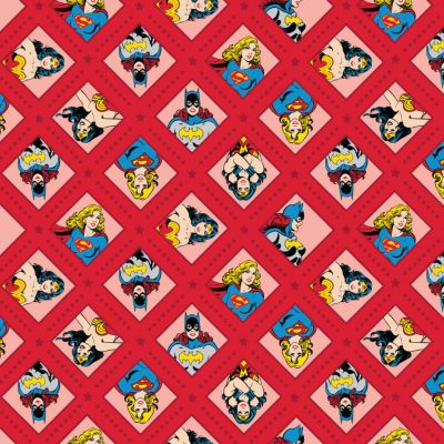 DC Super Women 23400603 Fabric