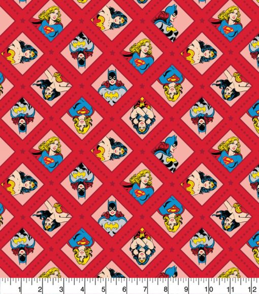 DC Super Women 23400603 Fabric