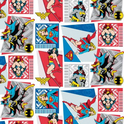 DC Original Heroines 2340026 Fabric