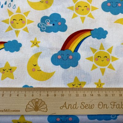 Craft Cotton Company - Happy Skies 2744-01