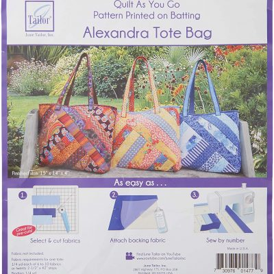 Quilt As You Go - Alexandra Tote Bag