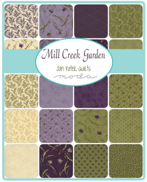 Mill Creek Garden Fabric by Jan Patek Quilts - Charm Pack 2240PP