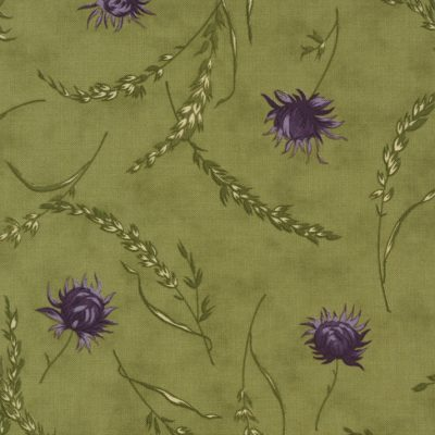 Mill Creek Garden Fabric - Wildflowers Green 2240-13