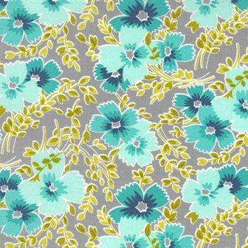 Flowers for Freya - Moda Fabrics - 23331 12 Foggy