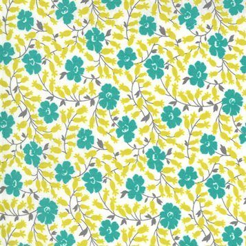 Flowers for Freya - Moda Fabrics - 23333 11 Cloud
