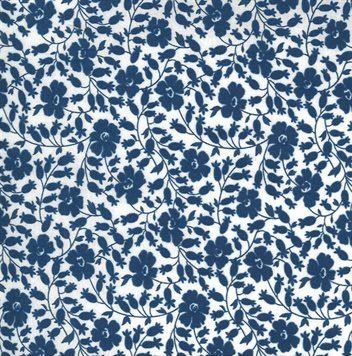 Flowers for Freya - Moda Fabrics - 2333 22 Bluebird