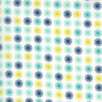 Flowers for Freya - Moda Fabrics - 23334-11 Cloud