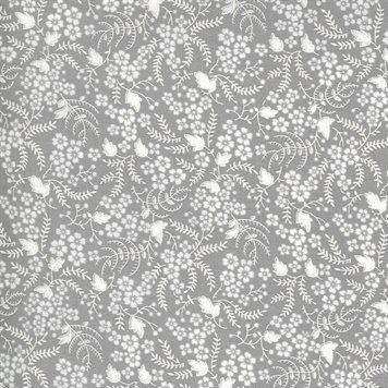 Flowers for Freya - Moda Fabrics - 23336 12 Foggy
