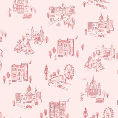 Riley Blake Designs - Notting Hill London Blush C10201-BLUSH