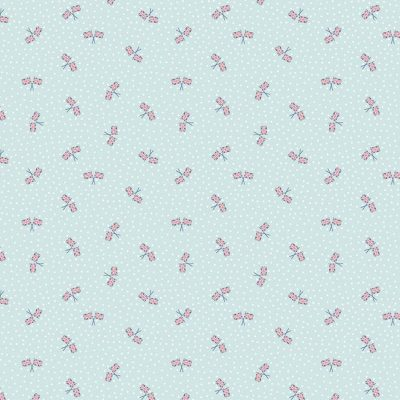 Riley Blake Designs - Notting Hill Union Jack Aqua C10206