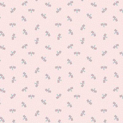 Riley Blake Designs - Notting Hill Union Jack Blush C10206
