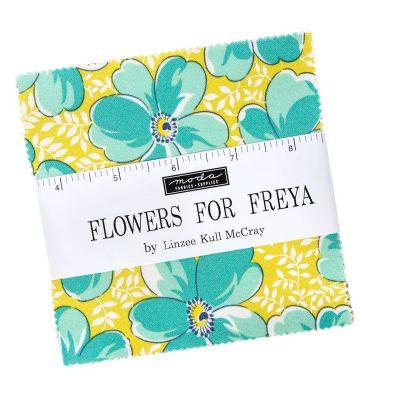 Flowers For Freya - Moda Fabrics - Charm pack