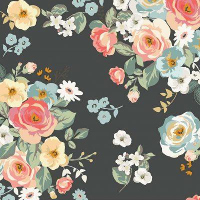 Riley Blake Designs - Gingham Gardens - Main Charcoal