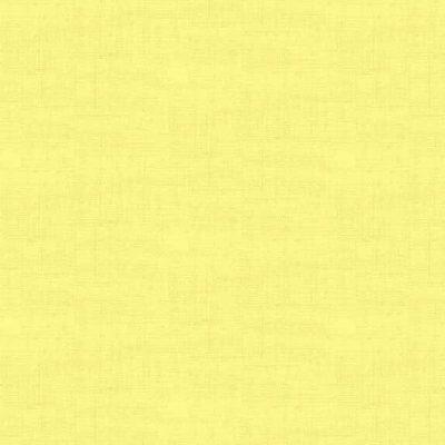 Makower Linen Texture - 1473/Y1 Primrose