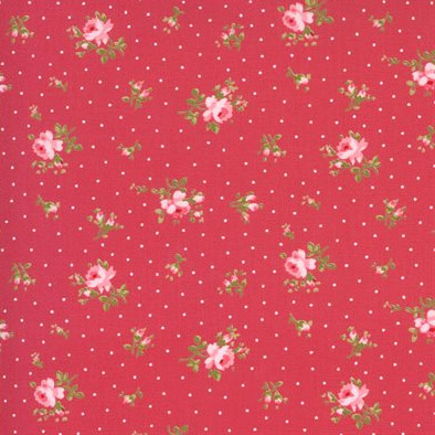 Sophie by Brenda Riddle Designs - Moda Fabrics - 18711 13 Rosey