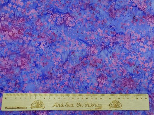 Stamped Bali Batik - Kingfisher Fabrics - SSW20-4-16