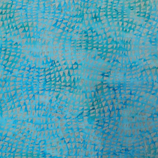 Stamped Bali Batik - Kingfisher Fabrics - SSW20-2-12 Blue