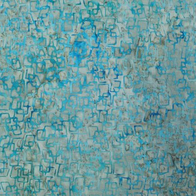 Stamped Bali Batik - Kingfisher Fabrics - SSW20-5-12 Blue