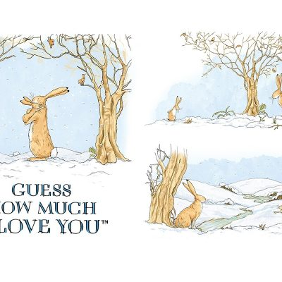 Clothworks – Guess How Much I Love You – Winter Panel Y3078-1M