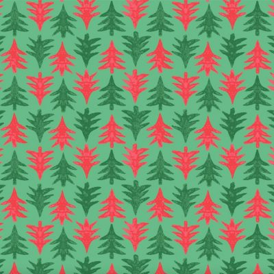 Liberty Christmas Merry & Bright - Festive Firs - 04775932A