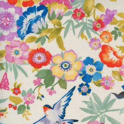 Lulu by Chez Moi - Moda Fabrics - 33580-18 Flights of Fancy Linen
