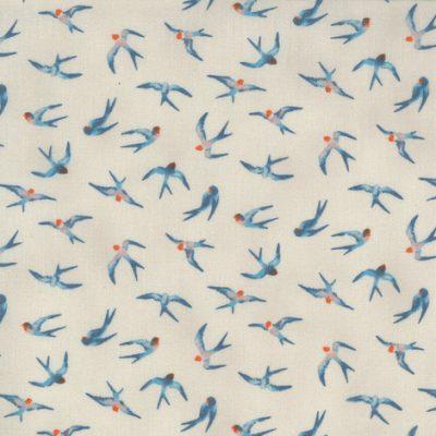 Lulu by Chez Moi - Moda Fabrics - 33583-16 Flying High Linen