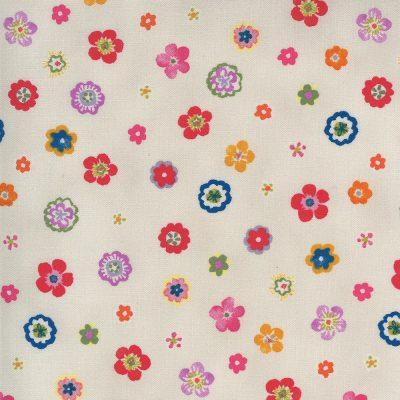 Lulu by Chez Moi - Moda Fabrics - 33585 16 Flowers Linen