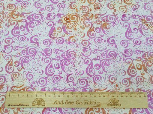 Stamped Bali Batik - Kingfisher Fabrics - SSW20-8-13