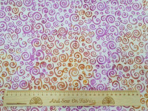 Stamped Bali Batik - Kingfisher Fabrics - SSW20-6-13