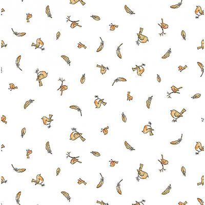 Clothworks - Guess How Much I Love You - Robins Y3082-1