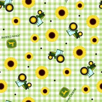 John Deere - John Deere Sunflower Cotton Fabric 20280