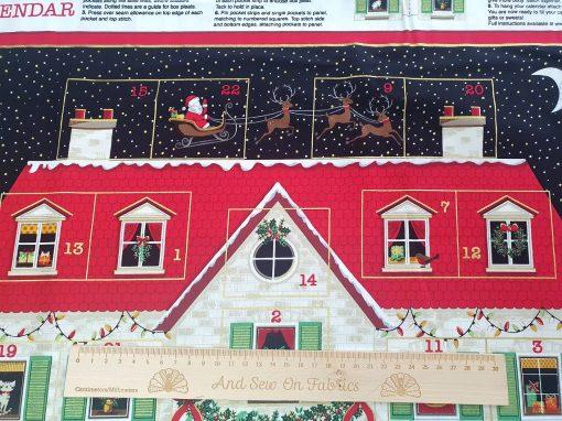 Makower – House - Advent Panel 2133