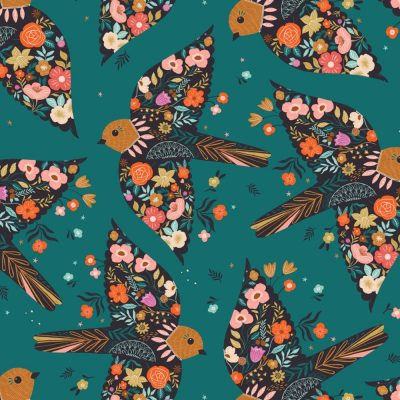 Dashwood - Good Vibes - GOOD 1853 Floral Birds