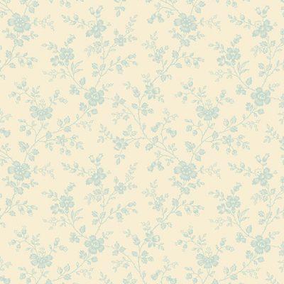 Makower - Bluebird by Edyta Sitar - 9841/L Forget Me Not