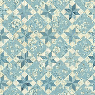 Makower - Bluebird by Edyta Sitar - 9848/B North Star