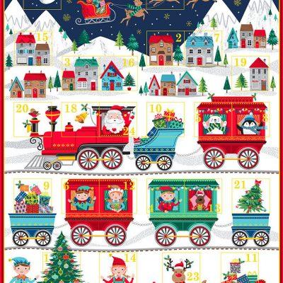 Makower – Santa Express Advent Panel 2387