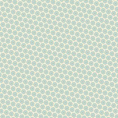 Makower - Bluebird by Edyta Sitar - 9844/LB Perriwinkle
