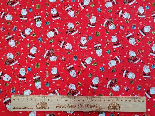 Makower - Santa Express - 2380 Red Santa