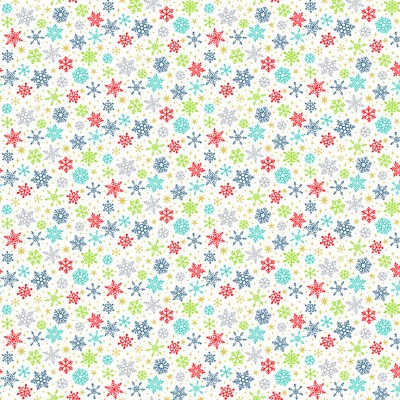 Makower - Santa Express - 2385 Snowflake