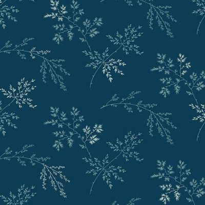 Makower - Bluebird by Edyta Sitar - 9454/B Sprigs