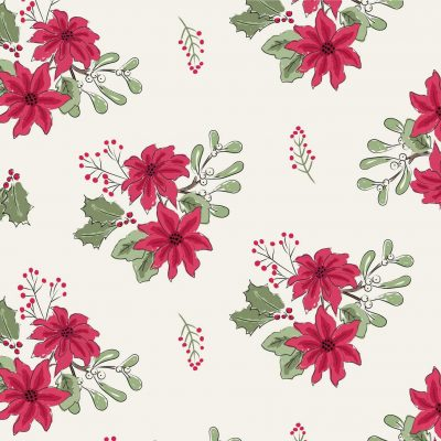 Craft Cotton Co - Christmas Critters Poinsettia 2796-03