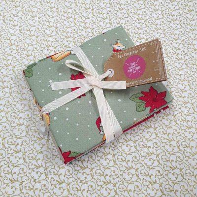 Craft Cotton Co – Christmas Critters Fat Quarter Bundle 2796-00