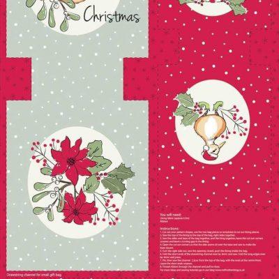 Craft Cotton Co – Christmas Critters Gift Bag Panel 2796-06