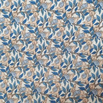 Sew Cool Blue Bunnies Cotton 8080-2