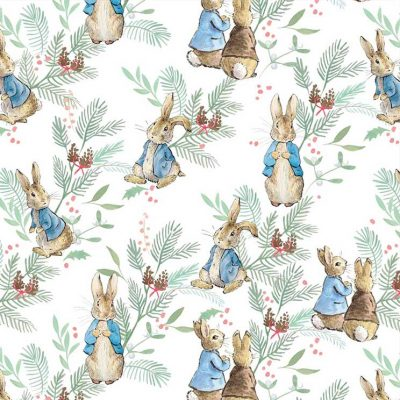 Craft Cotton Co - Peter Rabbit Christmas Traditions - Christmas Ferns 2802-02