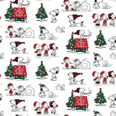 Craft Cotton Co - Snoopy's Christmas Fun - Christmas Fun 2804-01